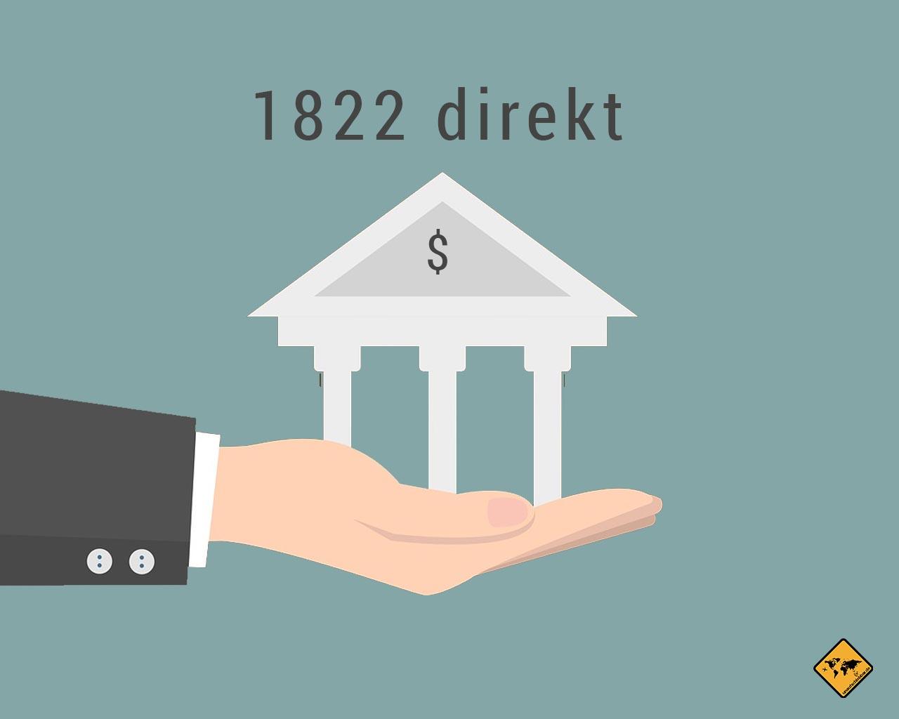 1822 direkt Girokonto Kreditkarte