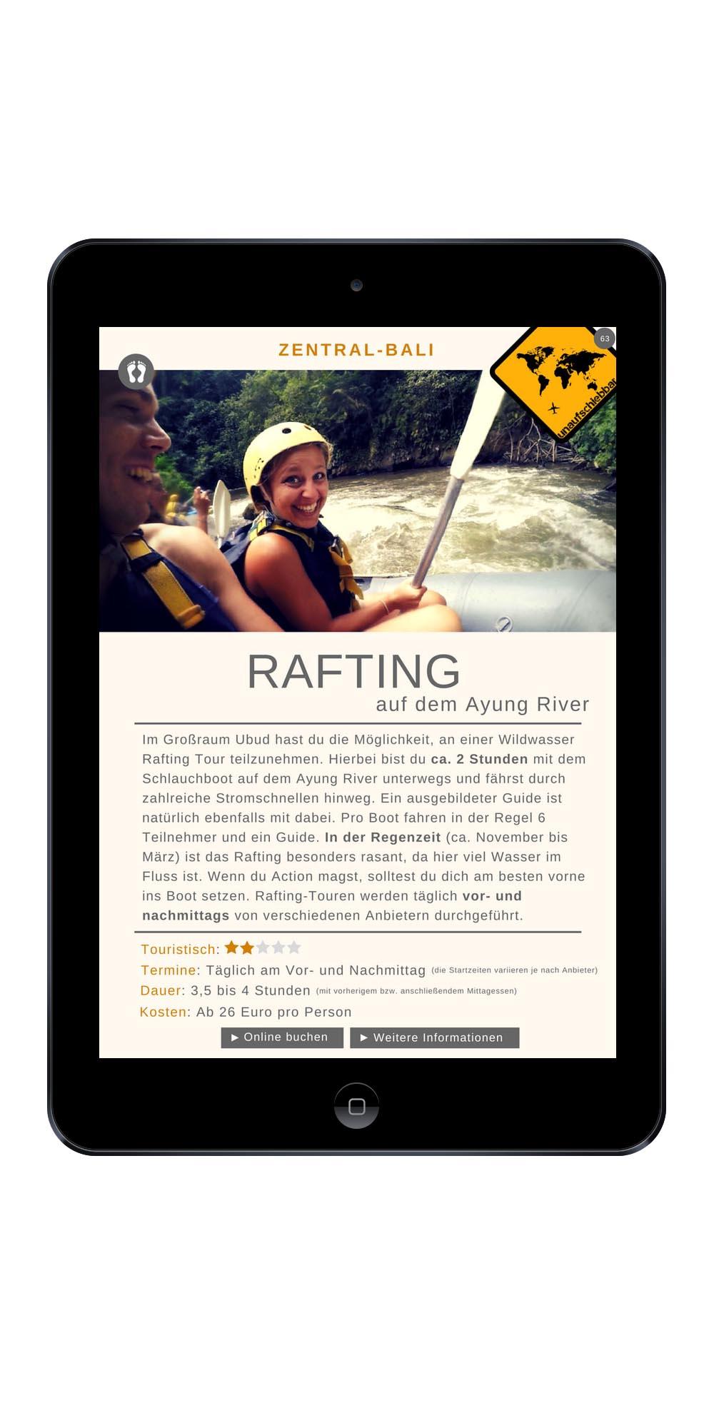 222 Lombok & Bali Highlights - 55 Wildwasser Rafting