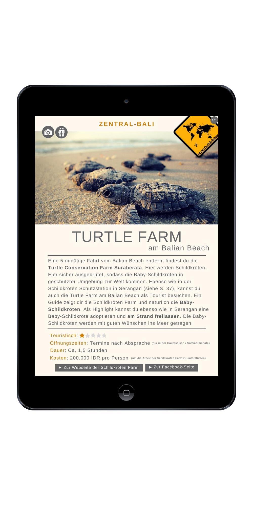 Bali Turtle Farm