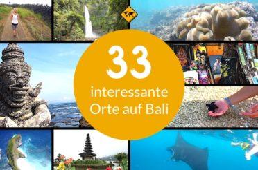33 interessante Orte auf Bali, die dich inspirieren werden