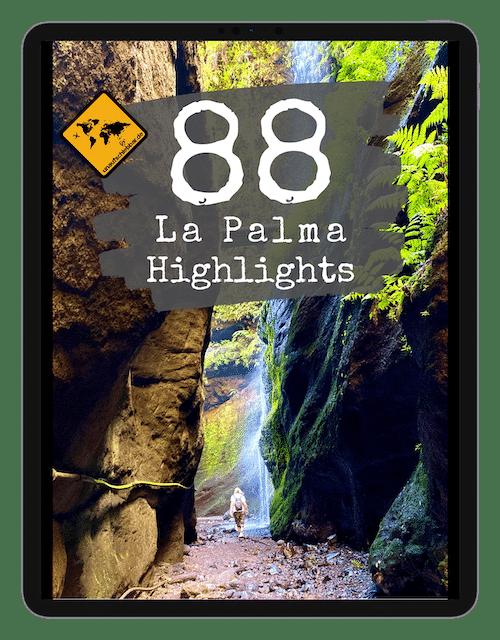 88 La Palma Reiseführer Highlights Cover