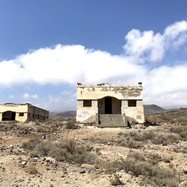Abades Teneriffa Geisterstadt Gebäude