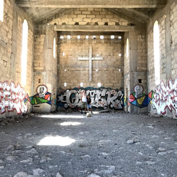Abades Teneriffa Geisterstadt Kirche innen