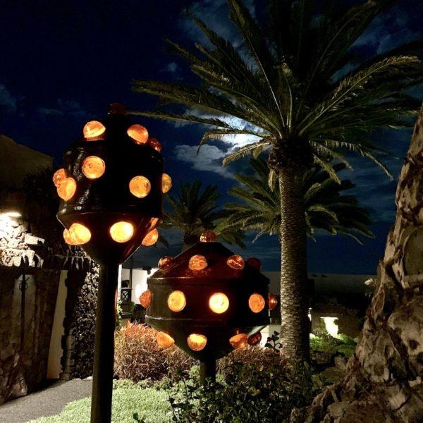 Abendlichter Jameos del Agua Lanzarote