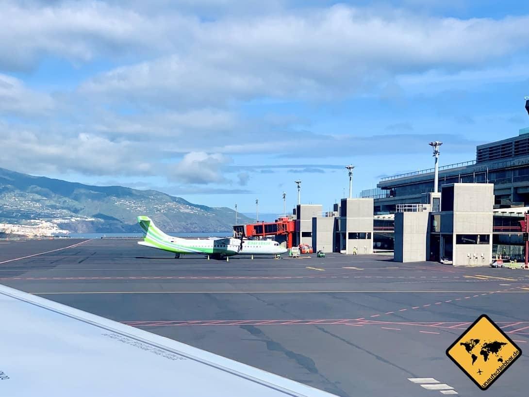 Aeropuerto de La Palma Flugzeug