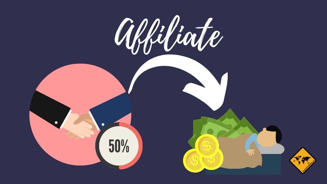 Affiliate Einnahmen passives Einkommen