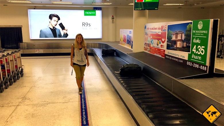 Gepäckband Air Asia