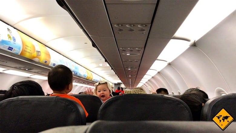 Air Asia Innenraum