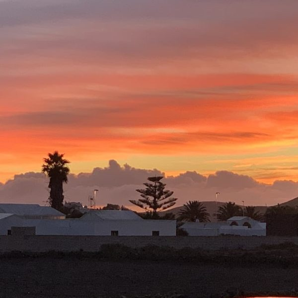 AirBnB Lanzarote Sonnenaufgang