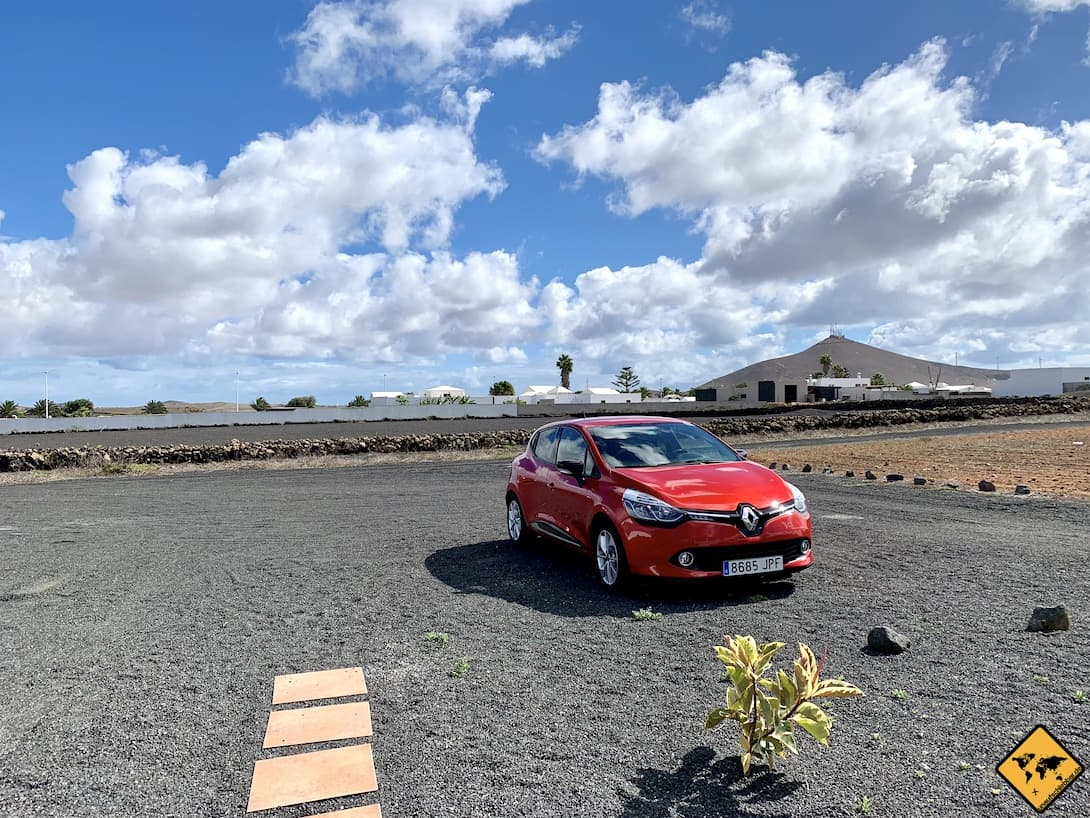 AirBnB Lanzarote eigener Parkplatz