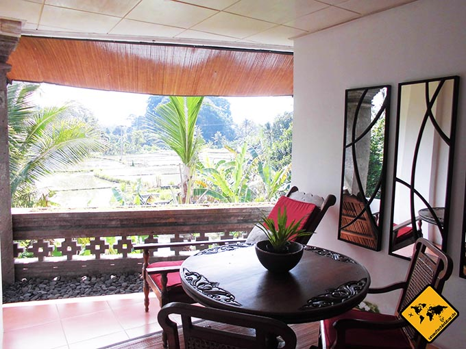 Airbnb Erfahrungen Amrit Bed and Breakfast Sandat Room Ubud Bali