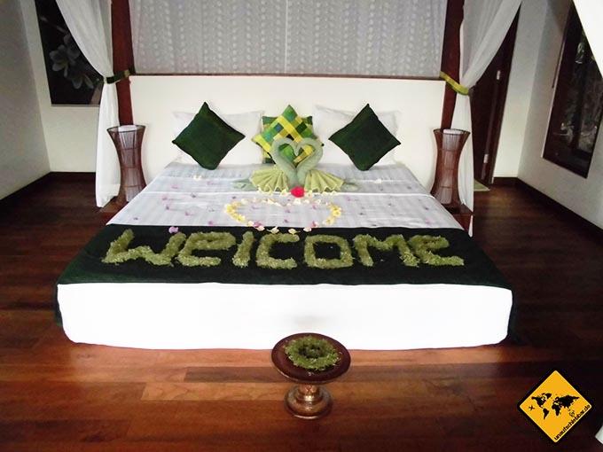 Airbnb Erfahrungen Bali Marina Villas-Hibiskus Amed Schlafzimmer