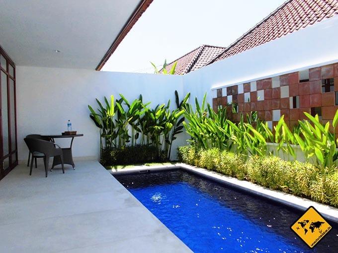 Airbnb Erfahrungen Bali Villa Style Apartment Sanur Pool