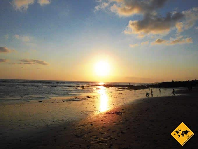 Airbnb Erfahrungen Canggu Bali Sonnenuntergang