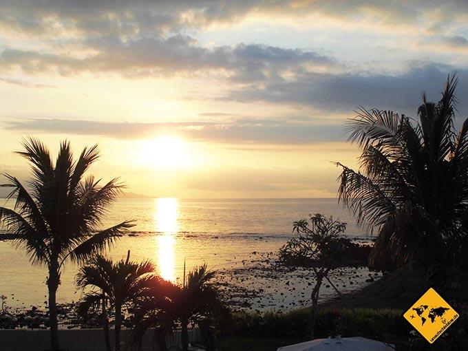 Airbnb Erfahrungen Ocean View Studio Seririt Sonnenuntergang