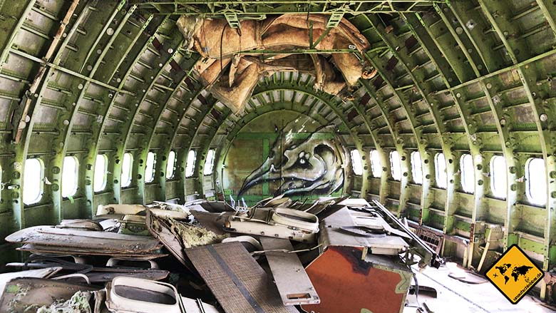 Airplane Graveyard Bangkok Graffiti