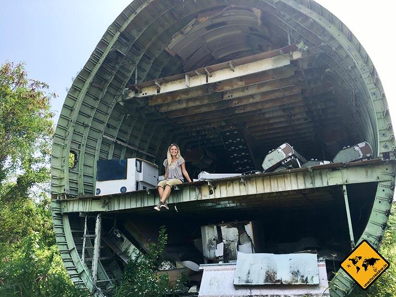 Airplane Graveyard Bangkok Großraum Maschine