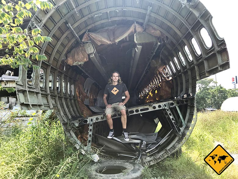 Airplane Graveyard Bangkok offene Maschine