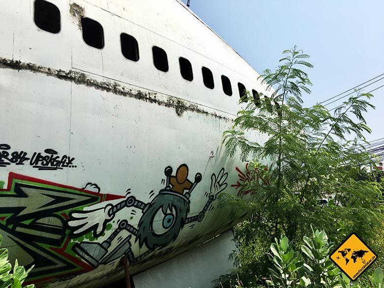 Airplane Graveyard Graffiti
