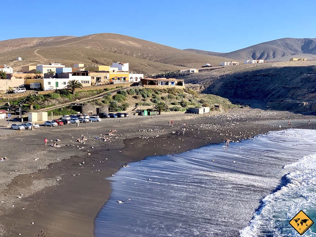 Ajuy Strand Häuser