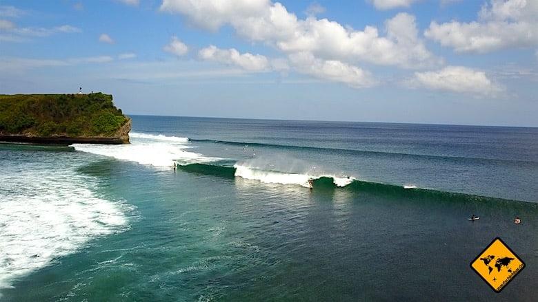 Aktivitäten auf Bali surfen