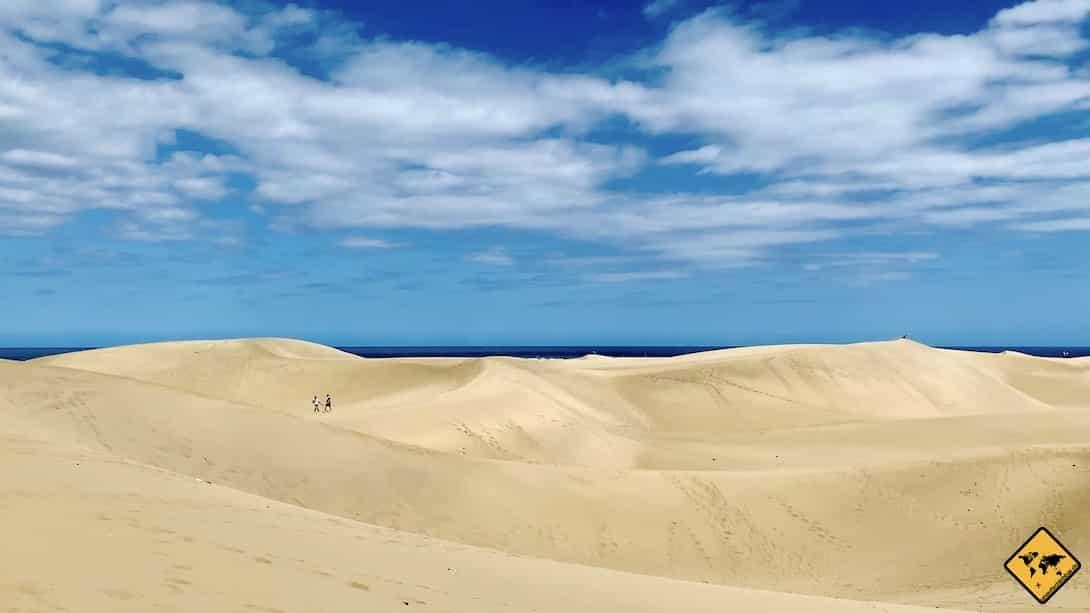 Aktivitäten auf Gran Canaria Wanderung Sanddünen