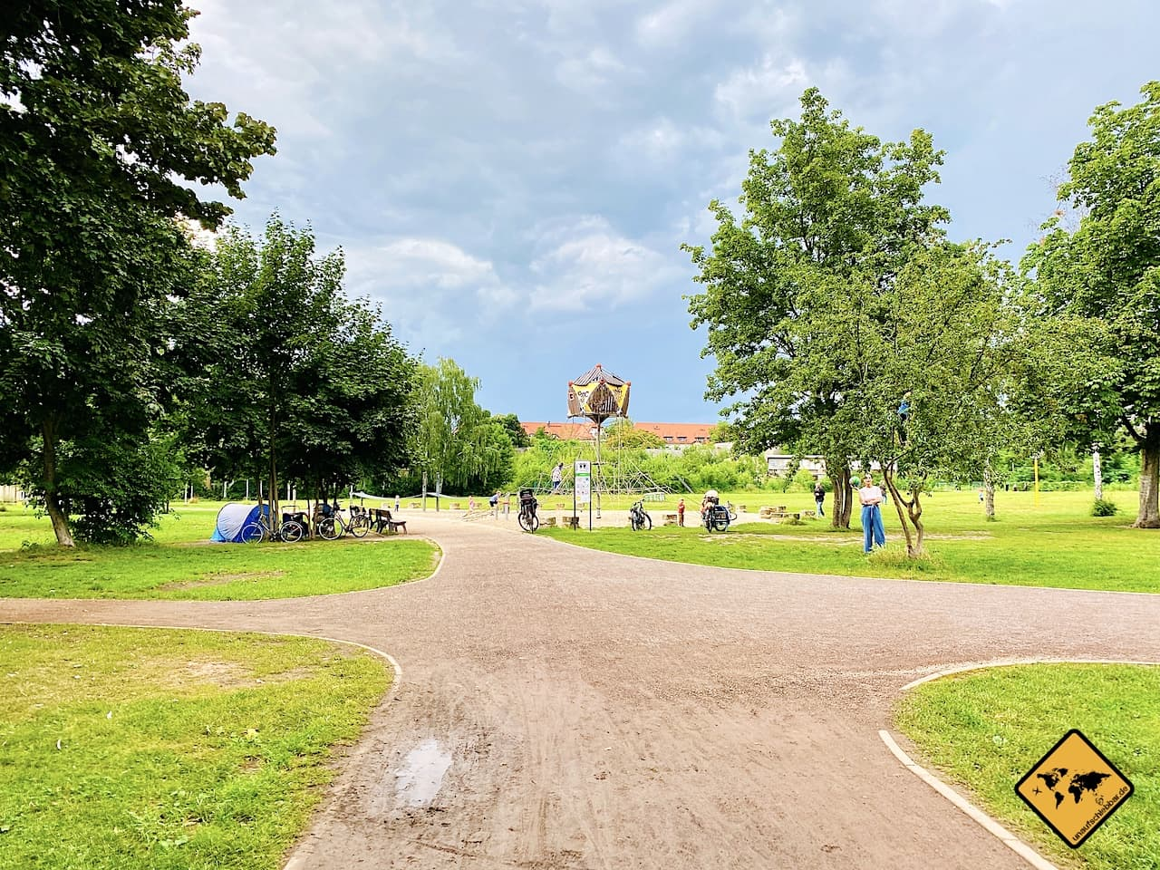 Alaunpark Dresden Neustadt
