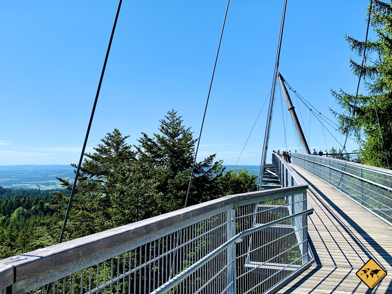 Allgäu Skywalk Hängebrücke