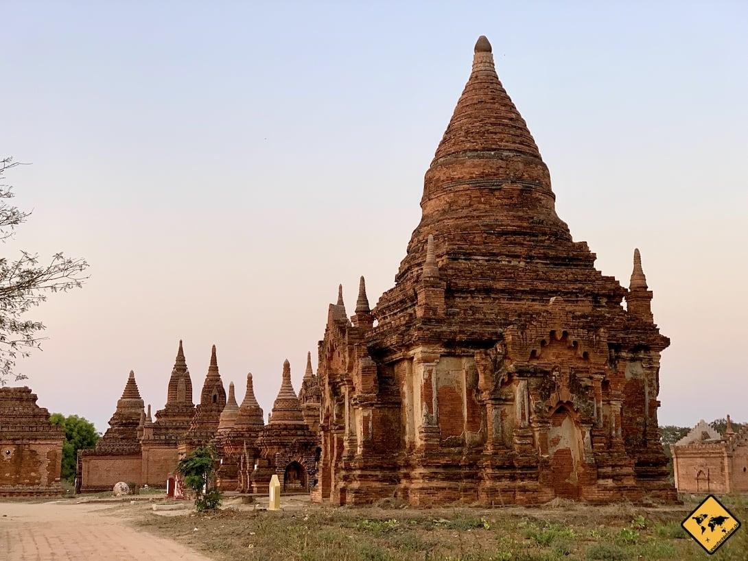 Alte Pagoden Bagan Myanmar