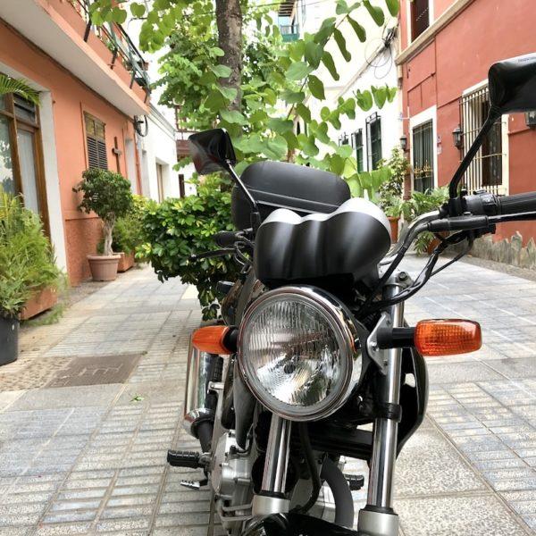 Altstadt Puerto Cruz Motorrad
