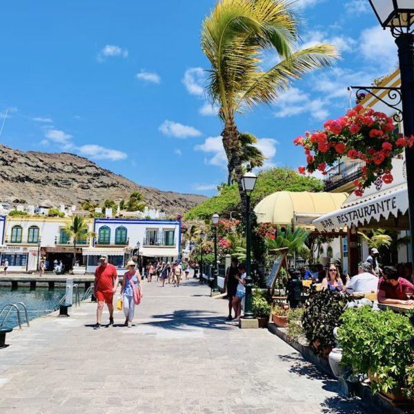 Ambiente Hafen Mogán Gran Canaria