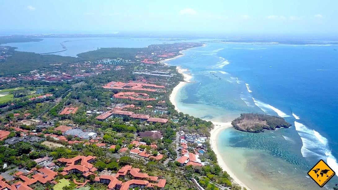Ambiente Nusa Dua Luftaufnahme