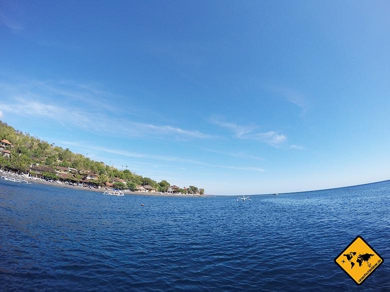 Amed Bali Meeresblick
