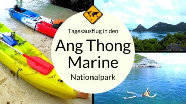 Ang Thong Marine Park – Meeres-Nationalpark vor Koh Samui
