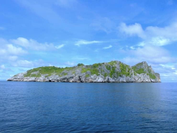 Ang Thong Marine Park Felsen