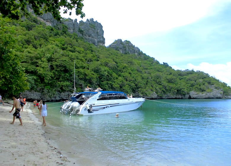 Ang Thong Marine Park Schnellboot
