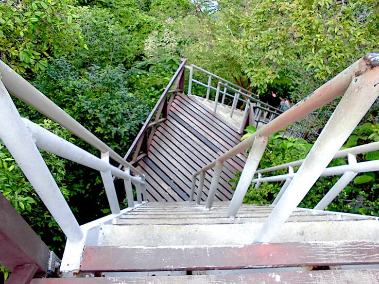 Ang Thong Marine Park Treppen