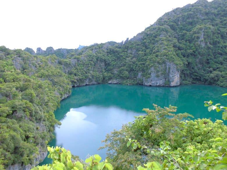 Ang Thong Marine Park grüner See