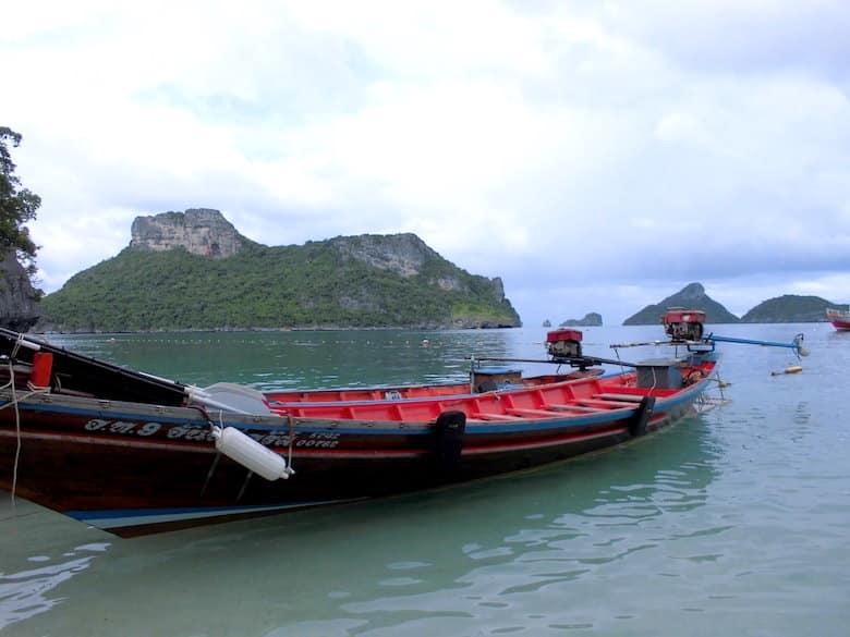 Ang Thong National Marine Park Ausflugsboot