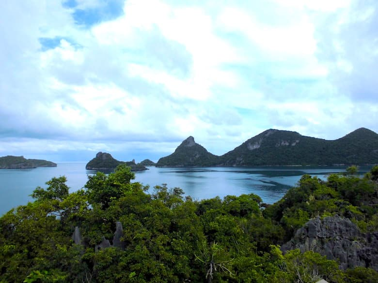 Ang Thong National Marine Park Aussichtspunkt