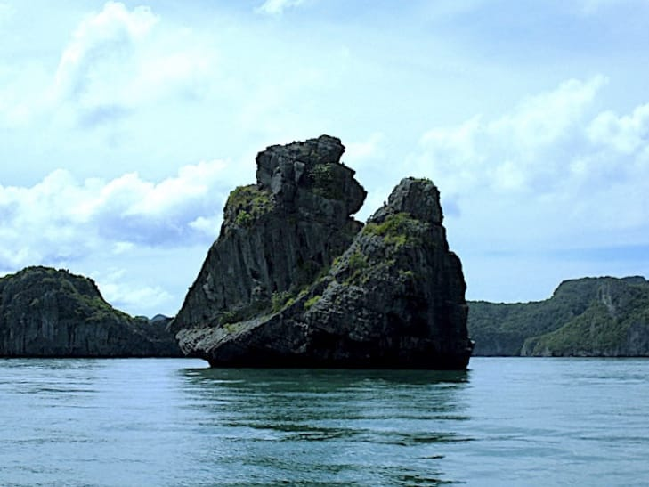 Ang Thong National Marine Park Felsformation