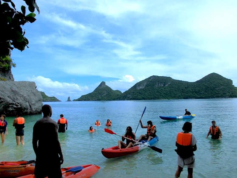 Ang Thong National Marine Park Kajak