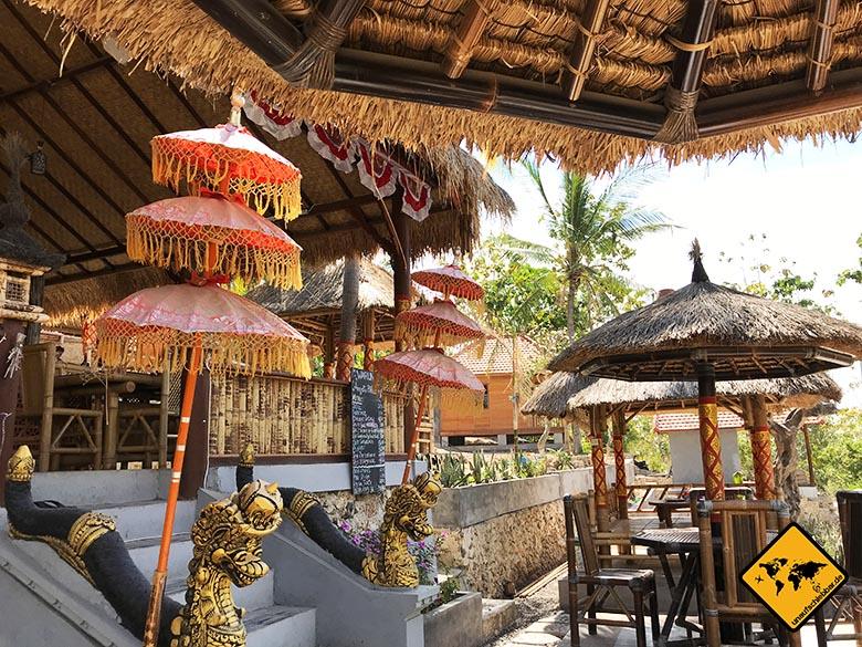 Angel Billabong Warung Nusa Penida Island