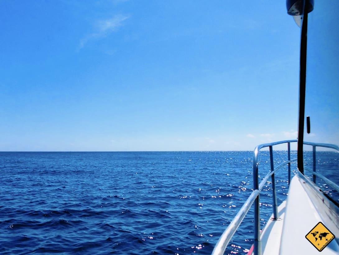 Anreise Gili Inseln per Schnellboot