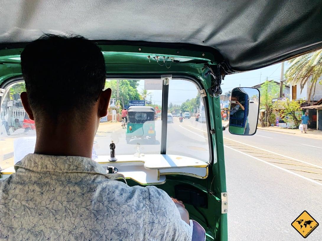 Anreise Kandy Tuk Tuk Sri Lanka