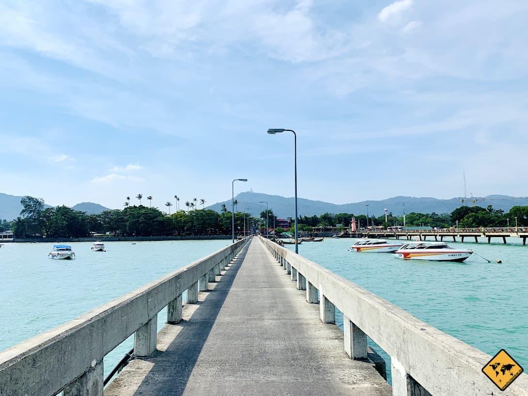 Anreise nach Koh Phi Phi Chalong Pier Phuket