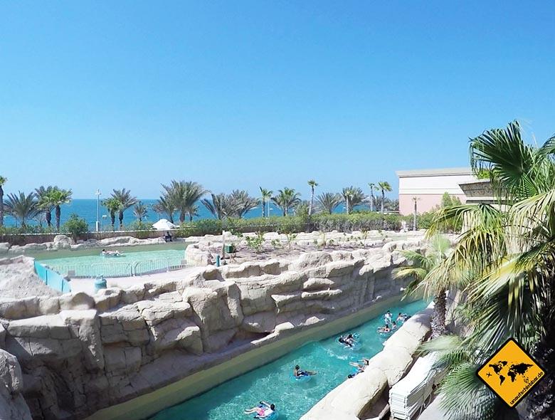 Aquaventure Dubai Wellenrutsche