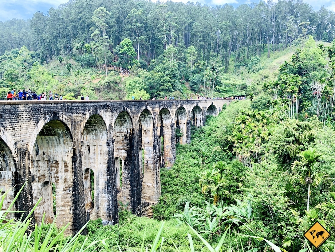 Architektur Nine Arches Bridge Sri Lanka