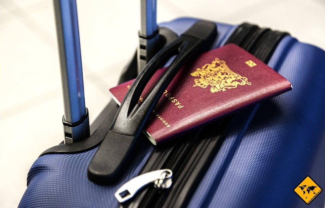 Für die Buchung deines Around the world Tickets benötigst du zunächst noch keinen Reisepass. Sobald der Flug startet, muss dein Pass jedoch vorliegen.