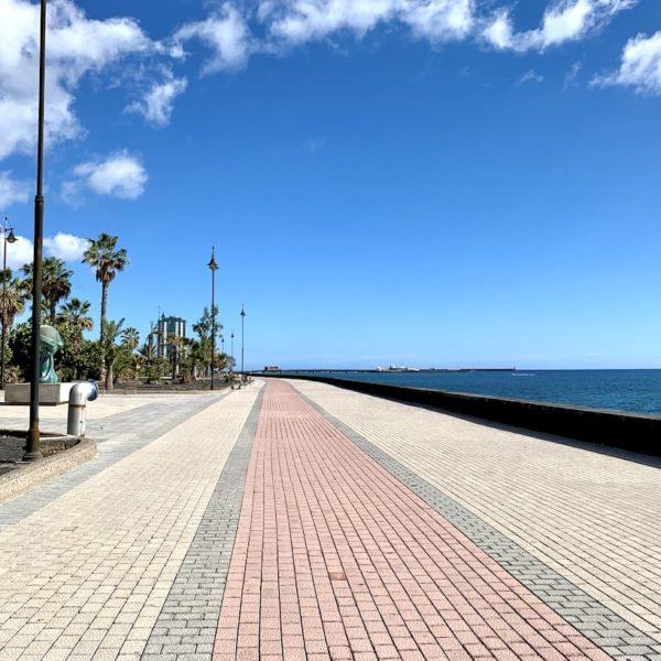 Arrecife Strandpromenade